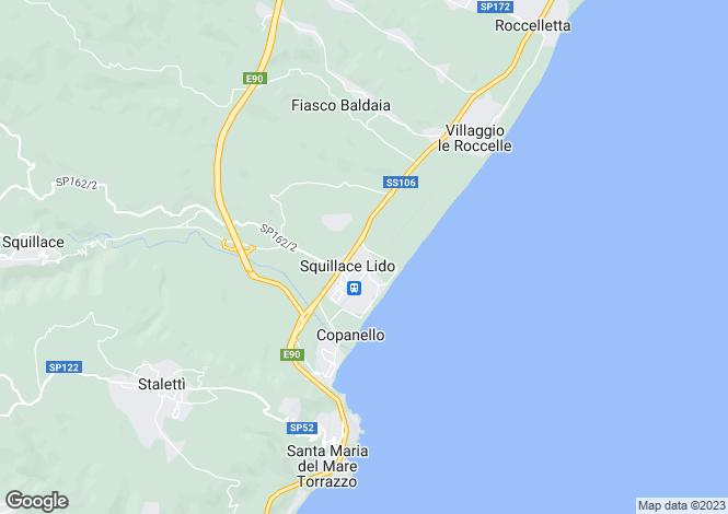 Map for Lombardy, Bergamo, Sarnico
