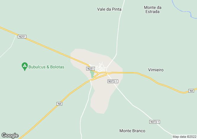 Map for Vimieiro, Alto Alentejo