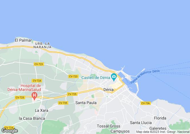 Map for Denia