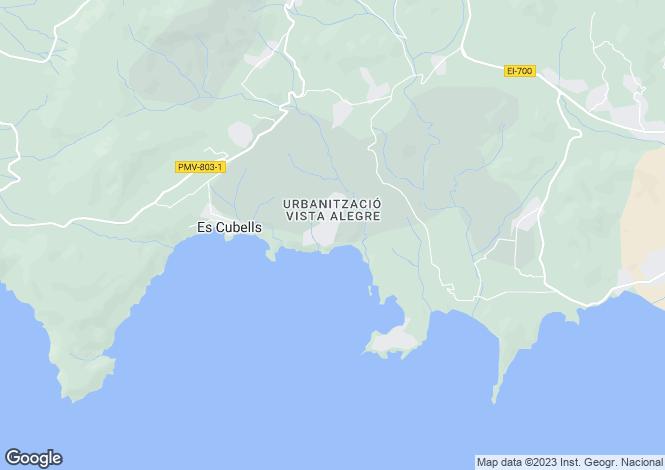 Map for Sea Light, Vista Alegre, Ibiza