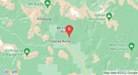 map of Crested Butte (United States of America)