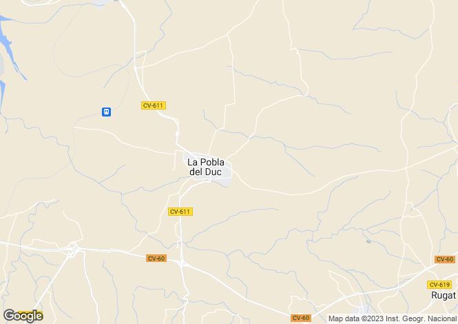Map for Valencia, Valencia, La Pobla del Duc