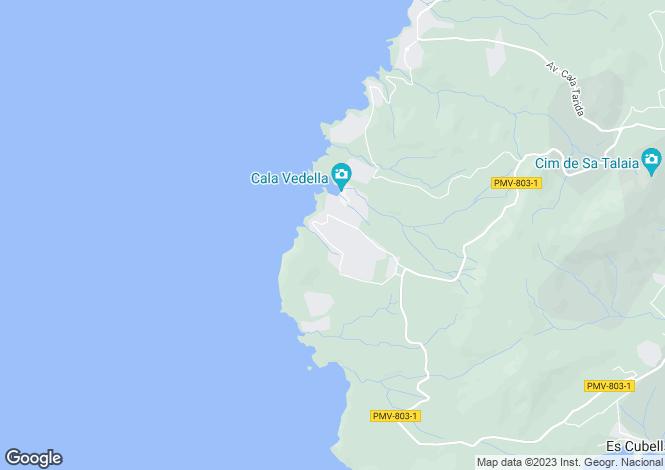 Map for Balearic Islands, Ibiza, Sant Josep De Sa Talaia