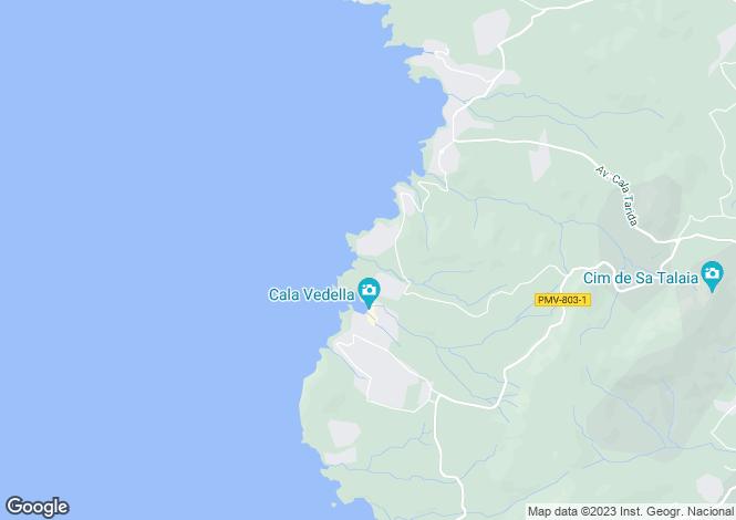 Map for San José, Ibiza, Balearic Islands