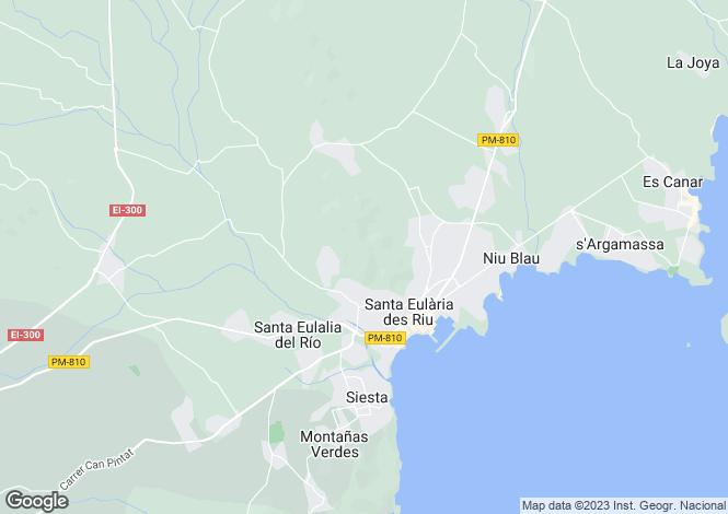 Map for Fusion Minimalist Finca, Santa Eulalia, Ibiza