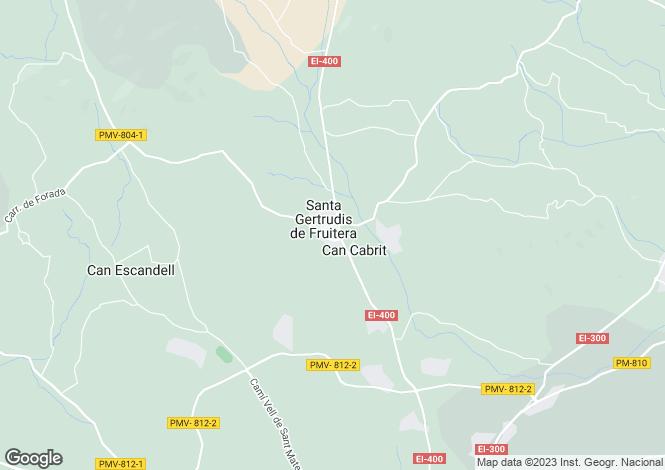 Map for Santa Gertrudis