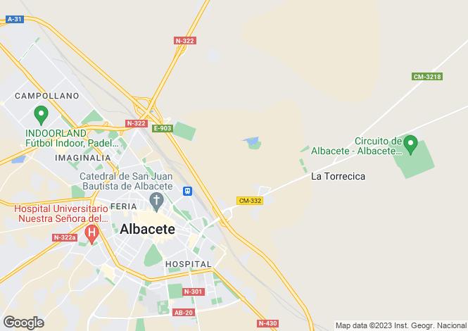 Map for Albacete, Albacete, Castile-La Mancha