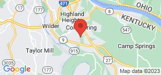 Map of ZIP Code 41076