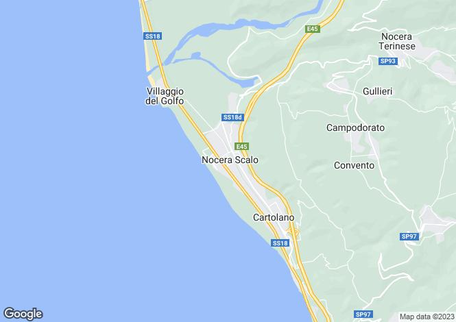 Map for Nocera Scalo, Catanzaro, Calabria