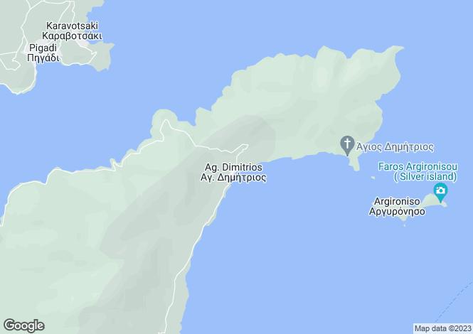 Map for Achilleio, Pteleos, Greece
