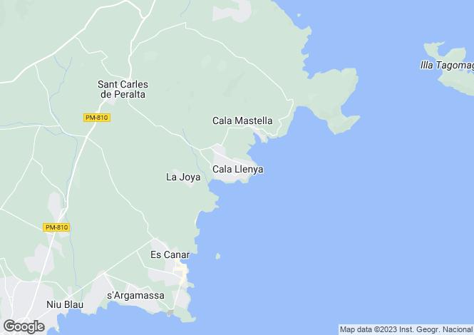 Map for New Luxury Villas Close To The Sea, Cala Llenya, San Carlos, Ibiza
