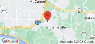 Map of ZIP Code 45245