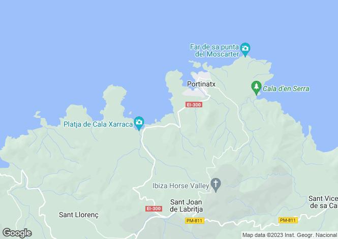 Map for Sant Joan de Labritja, Sant Joan de Labritja, Eivissa / Ibiza
