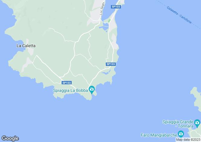 Map for Carloforte, Cagliari, Italy