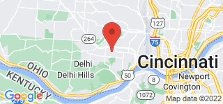 Map of ZIP Code 45205