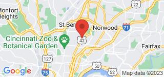 Map of ZIP Code 45229