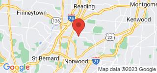 Map of ZIP Code 45237