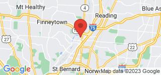 Map of ZIP Code 45216