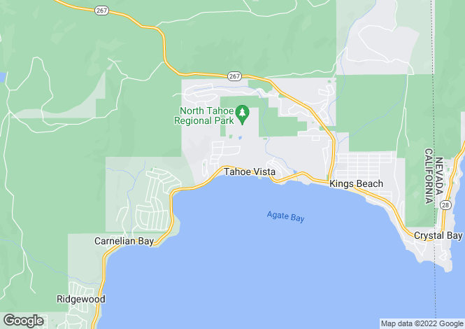 Map for California, Placer County, Tahoe Vista