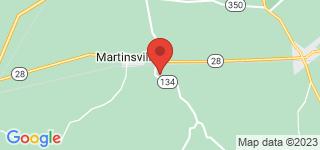 Map of ZIP Code 45146