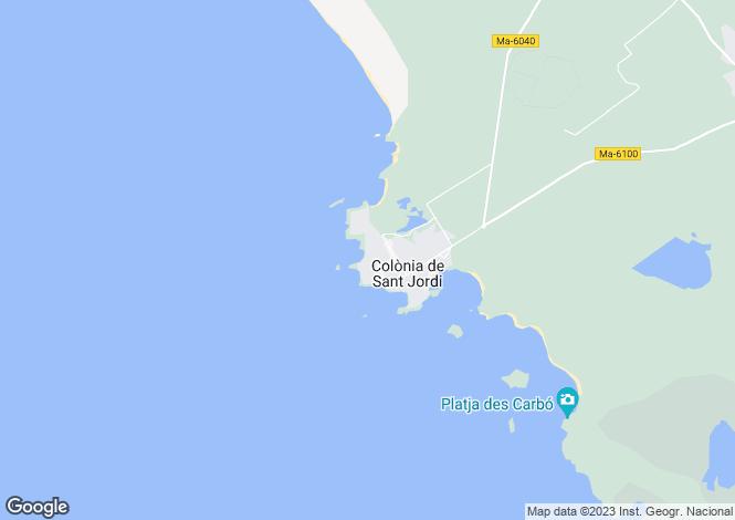 Map for Balearic Islands, Balearic Islands
