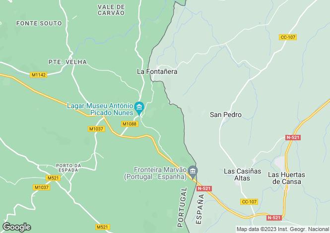 Map for Alto Alentejo, Marvão