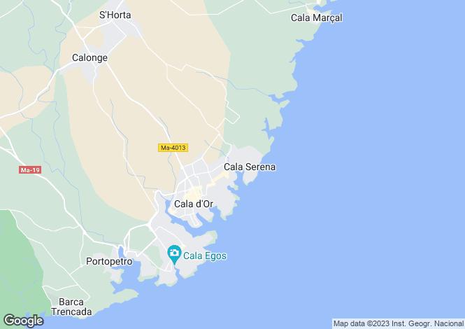 Map for Felanitx, Mallorca, Balearic Islands
