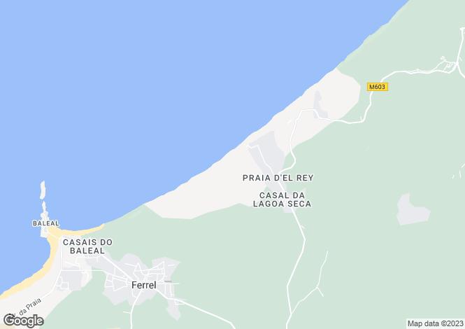 Map for Silver Coast (Costa de Prata)