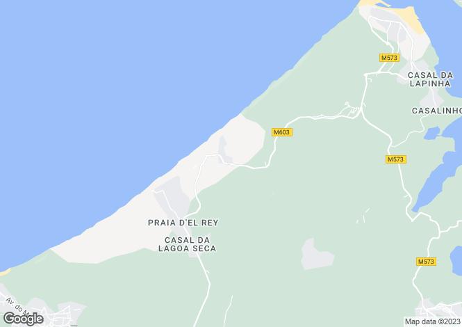 Map for Amoreira, Óbidos, Leiria