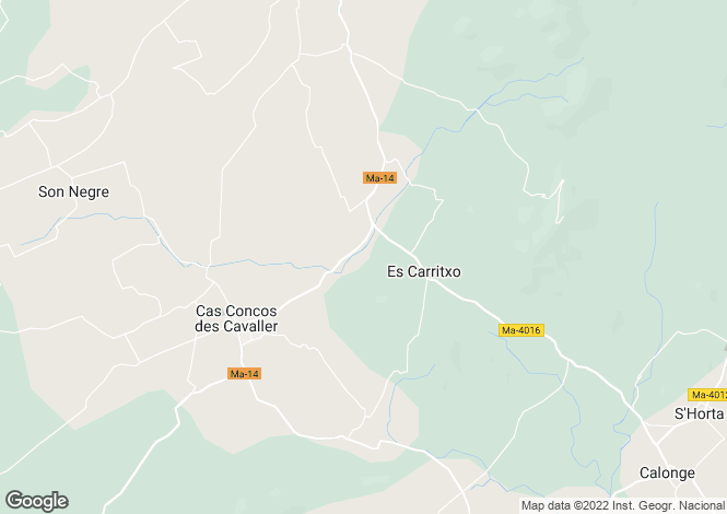 Map for Carrer de Cas Concos, Mallorca, Balearic Islands