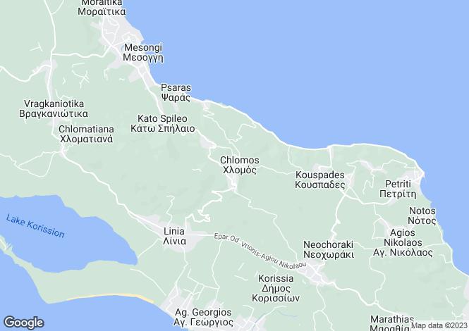 Map for Boukari, Corfu, Ionian Islands