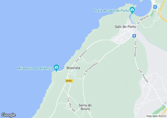 Map for Silver Coast (Costa de Prata)