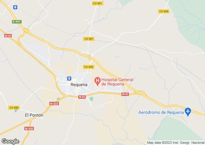 Map for Requena, Valencia, Valencia