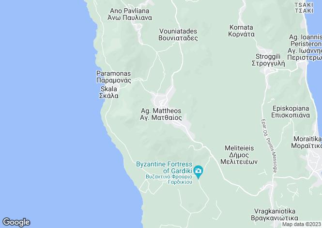Map for LOFT COTTAGE, Agios Matthaios