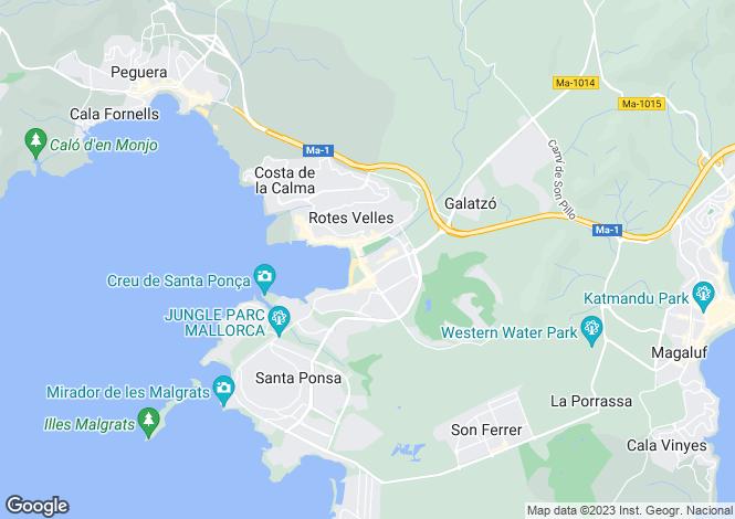 Map for 07180, Calvià / Santa Ponça, Spain