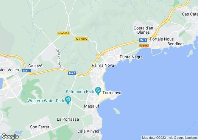 Map for 07181, Palmanova, Spain