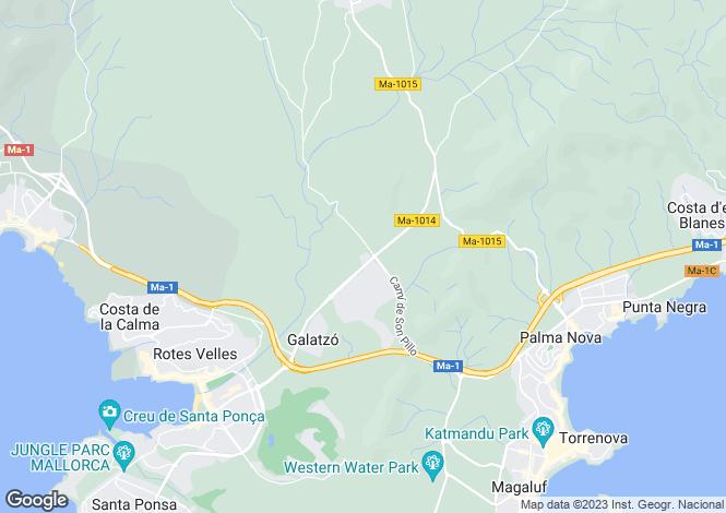 Map for 07184, Calvià, Spain