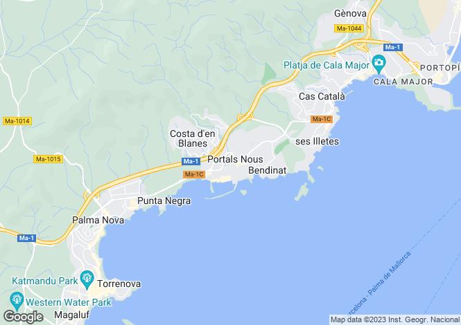 Map for 07181, Portals Nous, Spain