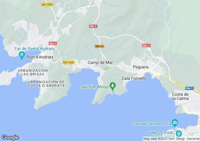 Map for Camp de Mar, Mallorca, Balearic Islands