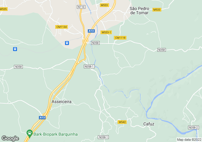 Map for Tomar, Santarem, 2300-184, Portugal