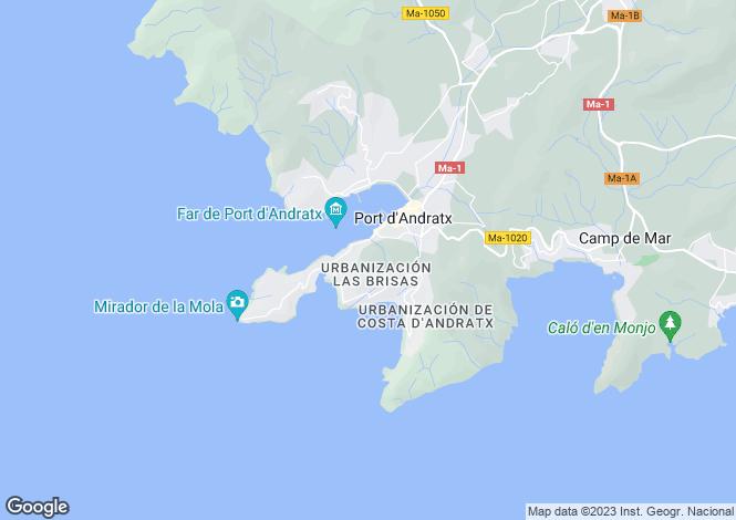 Map for Mon Port, Port Andratx, Mallorca