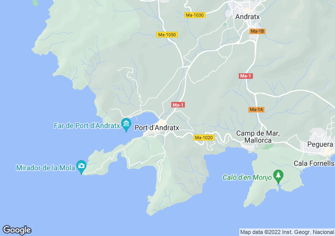 Map for 07157, Port d'Andratx, Spain