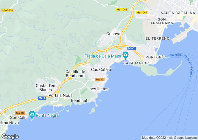 Map for 07181, C'as Catala, Spain