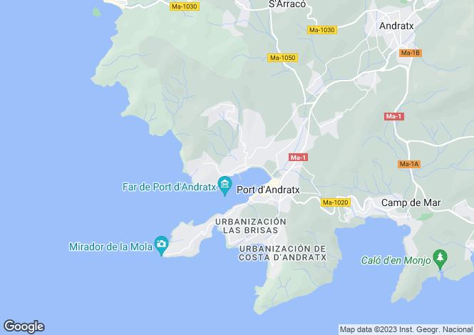 Map for Stunning Sea View Duplex Penthouse, Port D' Andratx, Mallorca