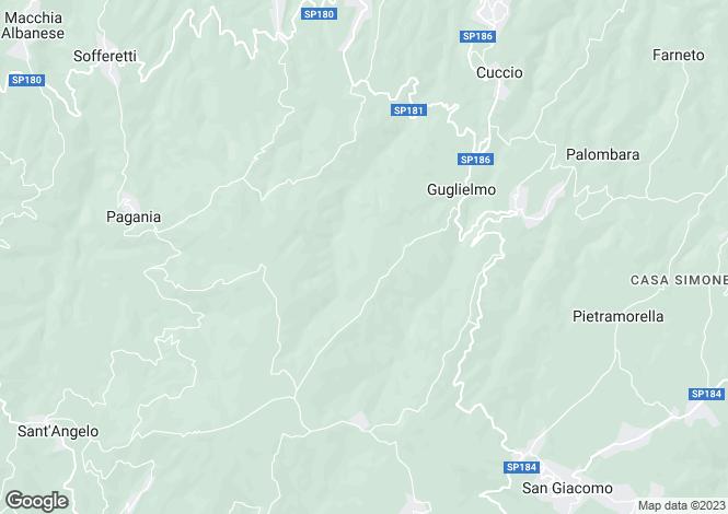 Map for Corigliano Calabro, Cosenza, Calabria
