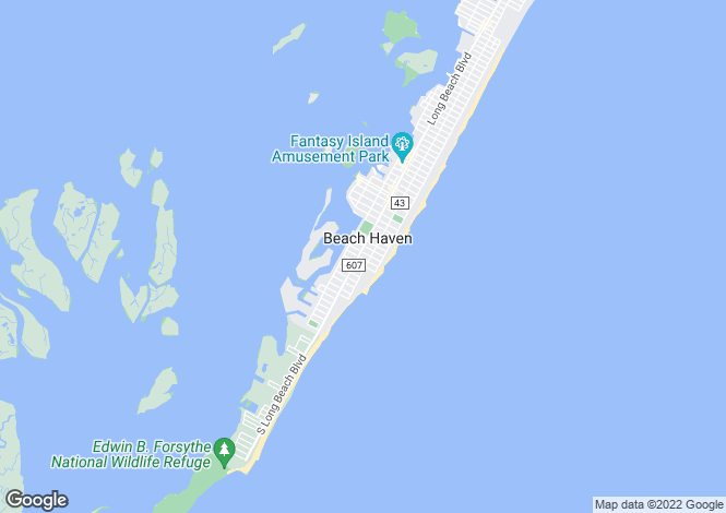 Map for New Jersey