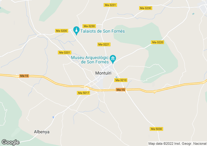 Map for Lovely Country House, Montuiri, Mallorca