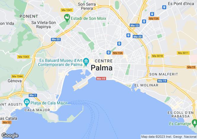 Map for Apartment In Palma Old Town, Palma de Mallorca, Mallorca