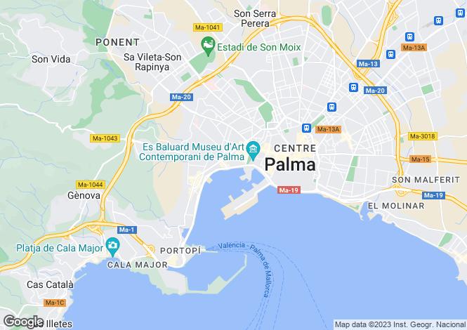 Map for Paseo Maritimo, Santa Catalina, Palma
