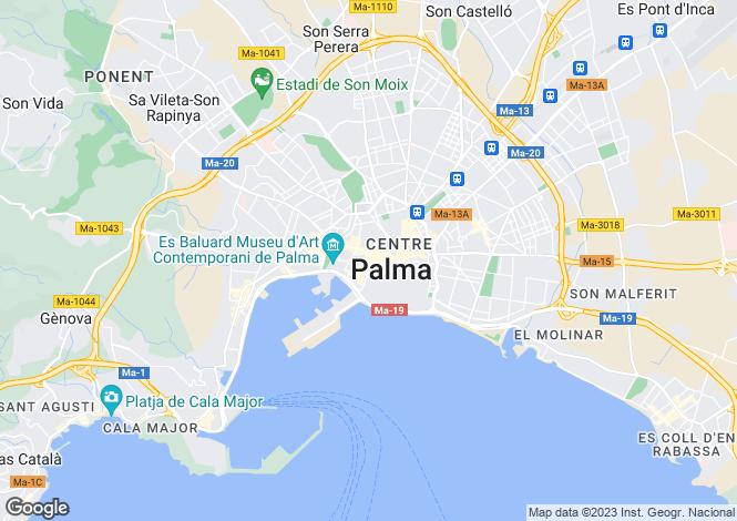 Map for Apartment In Exclusive Location, Palma de Mallorca, Mallorca